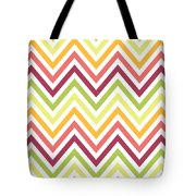 Chic Chevron Pattern Tote Bag