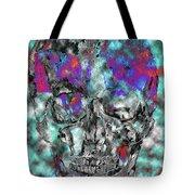 Chic Skull Tote Bag