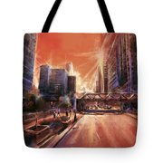 Chicaco Street 3 Tote Bag