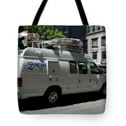 Chicago Abc 7 News Truck Tote Bag