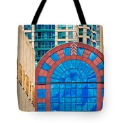 Chicago Place On N. Michigan Ave Tote Bag