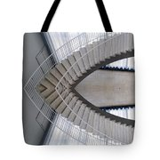 Chicago Art Institute Staircase Mirror Image 01 Tote Bag