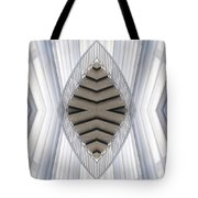 Chicago Art Institute Staircase Mirror Image 04 Vertical Tote Bag
