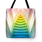 Chicago Art Institute Staircase Pa Prism Mirror Image Vertical 02 Tote Bag