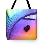 Chicago Art Institute Staircase Pa Prismatic Tote Bag