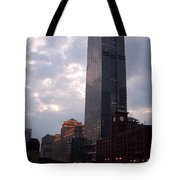 Chicago At Dusk Tote Bag