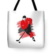 Chicago Blackhawks Player Shirt Tote Bag