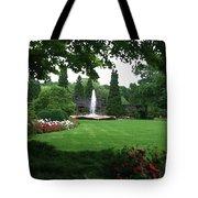 Chicago Botanical Gardens Landscape Tote Bag