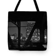 Chicago Bridge Night Tote Bag