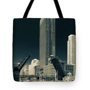 Chicago Bridges-2 Tote Bag