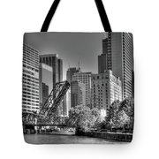 Chicago Bridges Tote Bag