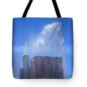Chicago - Buckingham Fountain Tote Bag