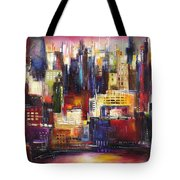 Chicago City View Tote Bag