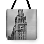 Chicago Clock Tower Tote Bag