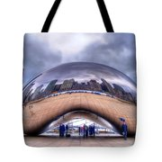 Chicago Cloud Gate Tote Bag