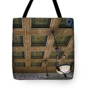 Chicago Cultural Center Staircase Ceiling Tote Bag