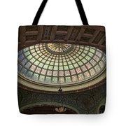 Chicago Cultural Center Tiffany Dome 01 Tote Bag