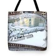 Chicago Downtown City  Tote Bag