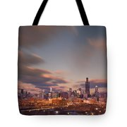 Chicago Dusk Tote Bag
