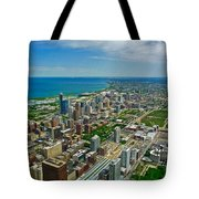 Chicago East View Tote Bag