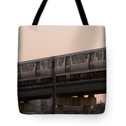 Chicago El Tote Bag