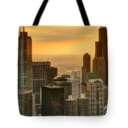Chicago Evenings Tote Bag