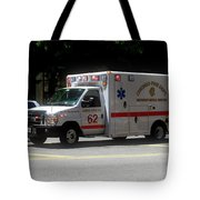 Chicago Fire Department Ems Ambulance 62 Tote Bag