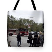 Chicago Fire Department Truck 13 Tote Bag