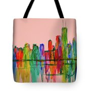 Chicago Flow  Tote Bag