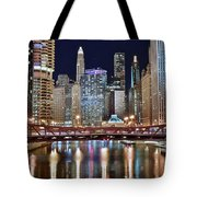 Chicago Full City View Tote Bag