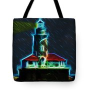 Chicago Harbor Lighthouse Tote Bag