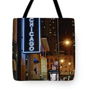 Chicago Hotel Tote Bag