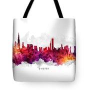 Chicago Illinois Cityscape 14 Tote Bag