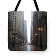 Chicago In The Rain 2 Tote Bag
