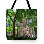 Chicago Jane Byrne Park In June Tote Bag