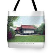 Chicago - Japanese Tea Houses - Jackson Park - 1912 Tote Bag