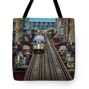 Chicago L Tote Bag