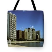 Chicago Lake Front Tote Bag