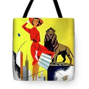 Chicago, Lion, Shopping Woman Tote Bag