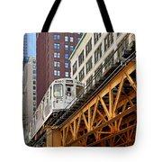 Chicago Loop 'l' Tote Bag