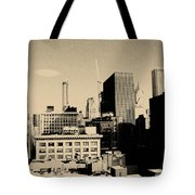 Chicago Loop Skyline Tote Bag