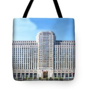 Chicago Merchandise Mart South Facade Tote Bag