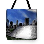 Chicago Millennium Park Bp Bridge Pa 01 Tote Bag