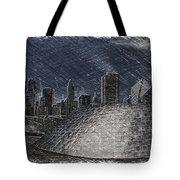 Chicago Millennium Park Bp Bridge Pa 02 Tote Bag