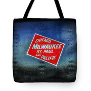 Chicago Milwaukee St. Paul And Pacific Tote Bag