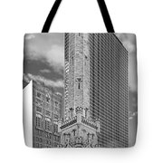 Chicago - Old Water Tower Tote Bag by Christine Till