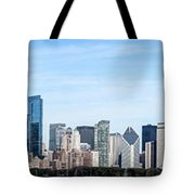 Chicago Panoramic Skyline High Resolution Picture Tote Bag