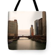 Chicago Rive Tote Bag