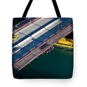 Chicago River Crossing Tote Bag