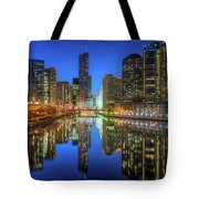 Chicago River East Tote Bag